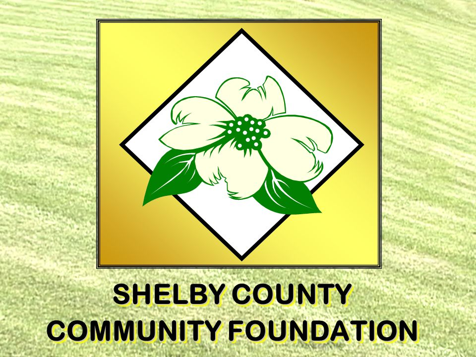  Community Foundations are the fastest growing form of philanthropy  Much different from a private foundation SHELBY COUNTY COMMUNITY FOUNDATION