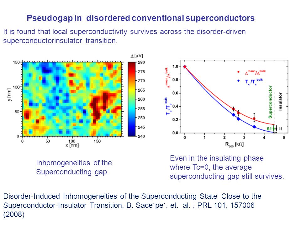 Disorder-Induced Inhomogeneities of the Superconducting State Close to the Superconductor-Insulator Transition, B.