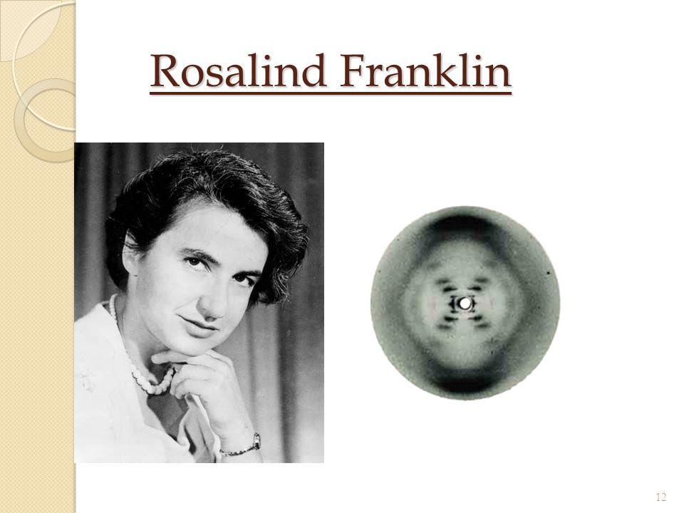 Rosalind Franklin 12