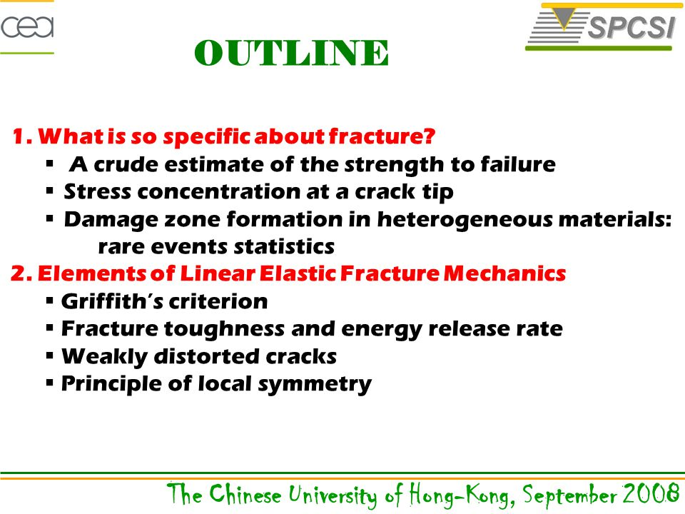 1. What is so specific about fracture.