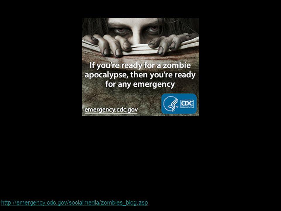 http://emergency.cdc.gov/socialmedia/zombies_blog.asp