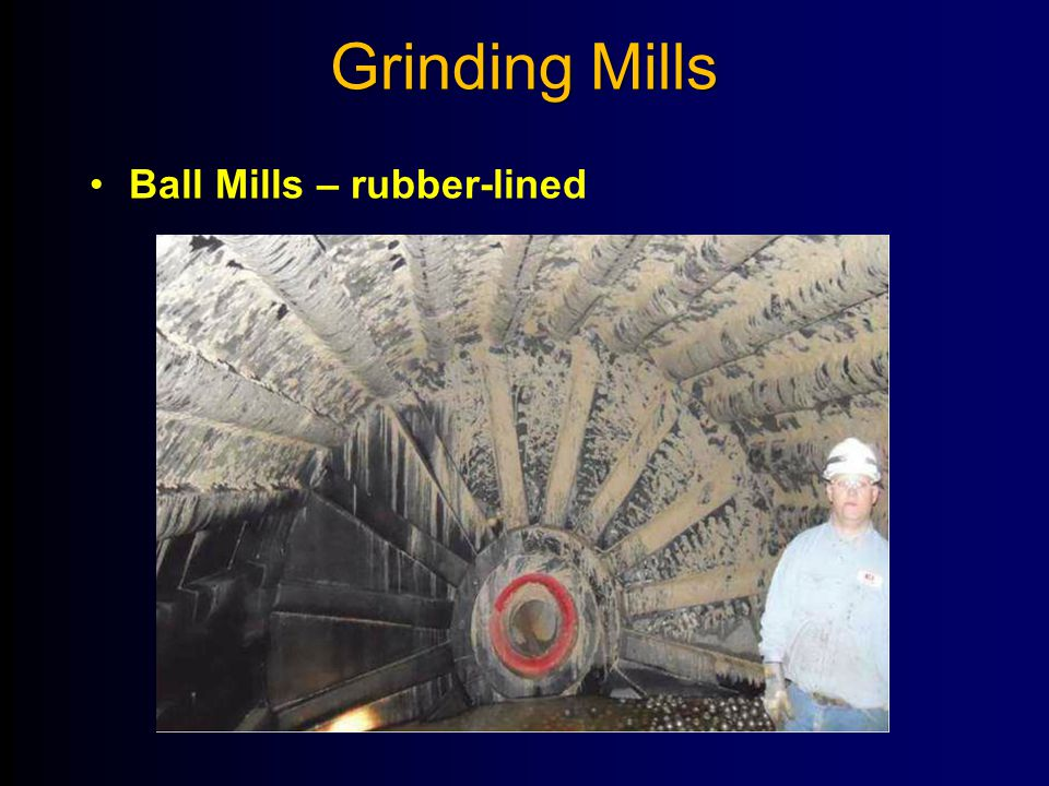 Grinding Mills Ball Mills – rubber-lined