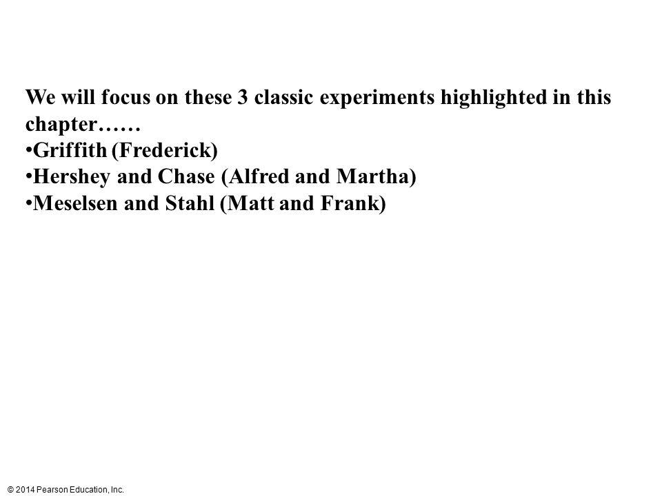 © 2014 Pearson Education, Inc. Figure 13.7b 3 end 5 end 3 end 5 end T A C G C G T A 1 2