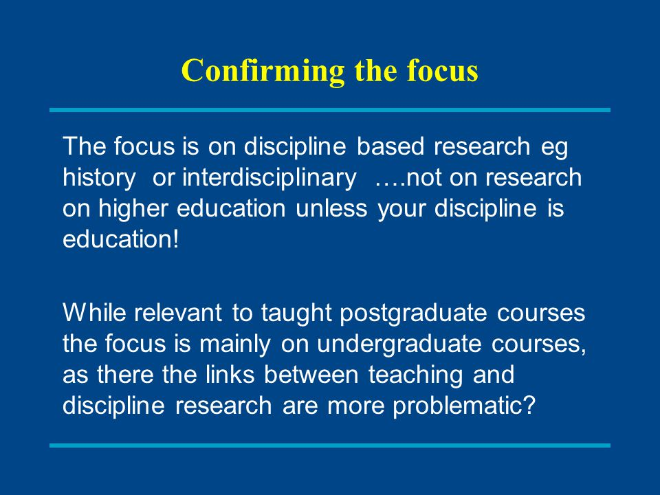 Linking research and teaching: C onclusions; The work of Boyer Ernest Boyer in Scholarship Reconsidered(1990) proposed that 'scholarship' include these four different categories: The scholarship of discovery that includes original research that advances knowledge; The scholarship of integration that involves synthesis of information across disciplines, across topics within a discipline, or across time; The scholarship of application (also later called the scholarship of engagement) that goes beyond the service duties of a faculty member to those within or outside the University and involves the rigor and application of disciplinary expertise with results that can be shared with and/or evaluated by peers The scholarship of teaching and learning that the systematic study of teaching and learning processes.