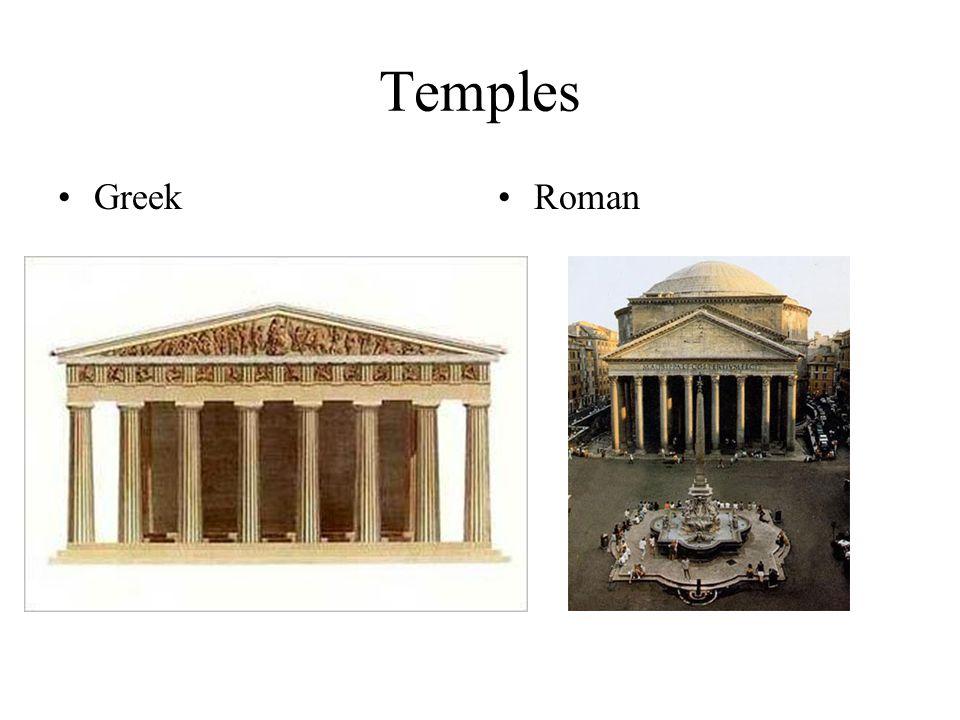 Temples GreekRoman