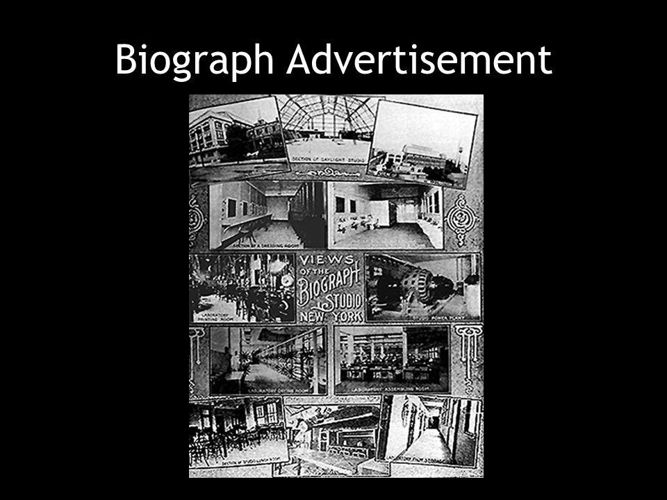 Biograph Advertisement