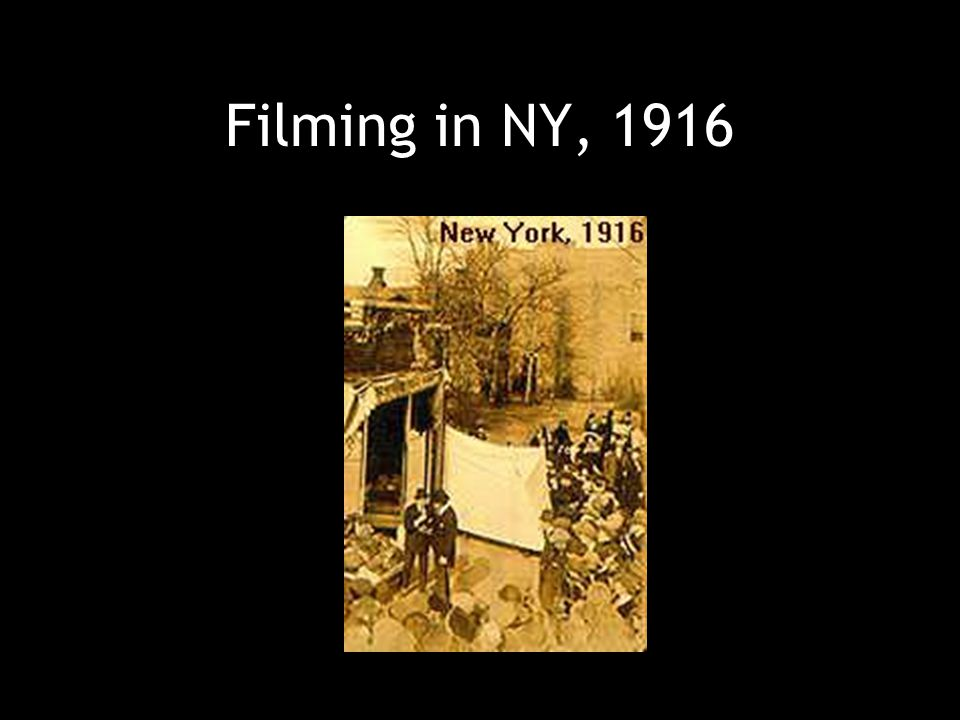 Filming in New Jersey, 1919
