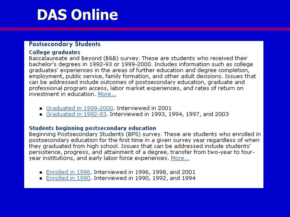 DAS Online