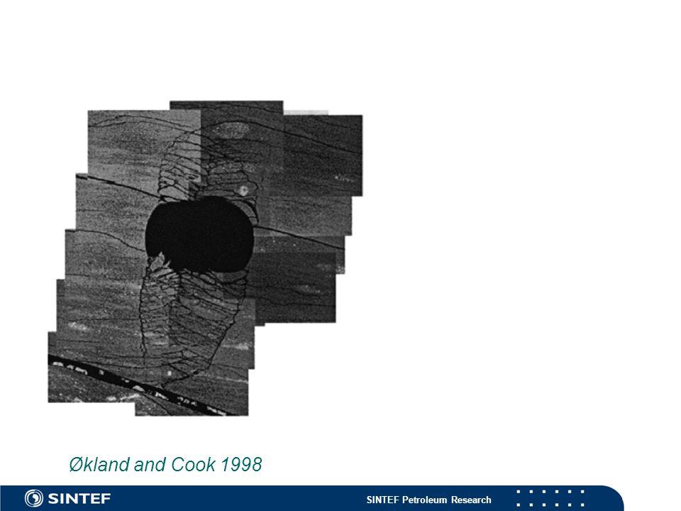 SINTEF Petroleum Research Økland and Cook 1998