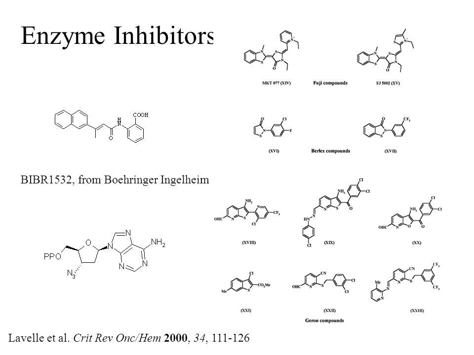 Enzyme Inhibitors Lavelle et al.