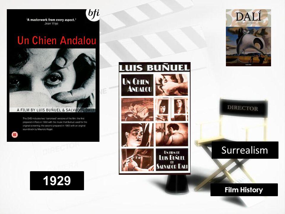 Surrealism 1929 Film History