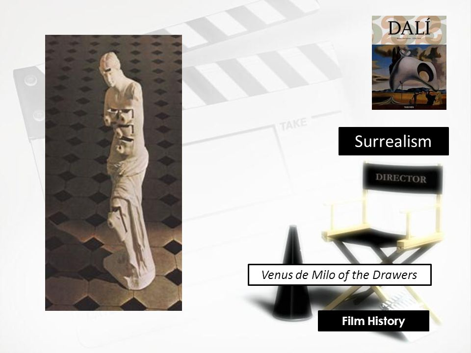Venus de Milo of the Drawers Surrealism Film History