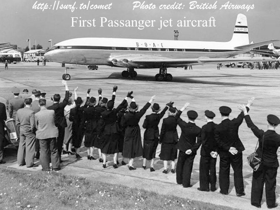 First Passanger jet aircraft