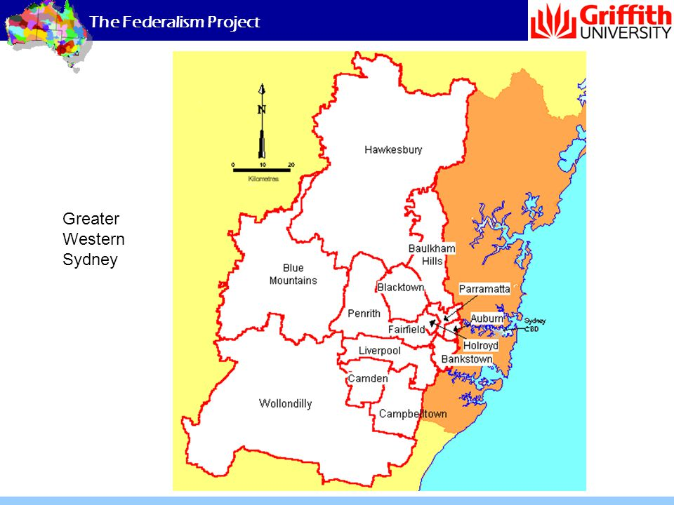 The Federalism Project Greater Western Sydney
