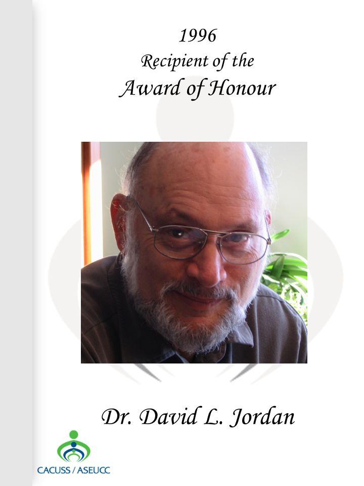 Dr. David L. Jordan