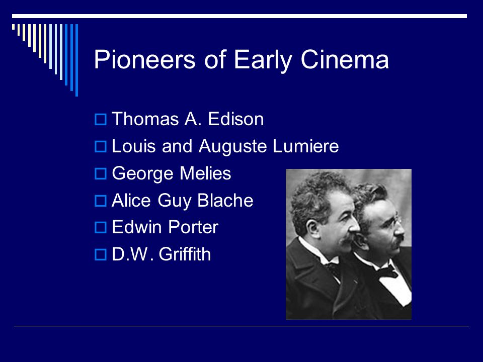Pioneers of Early Cinema  Thomas A.