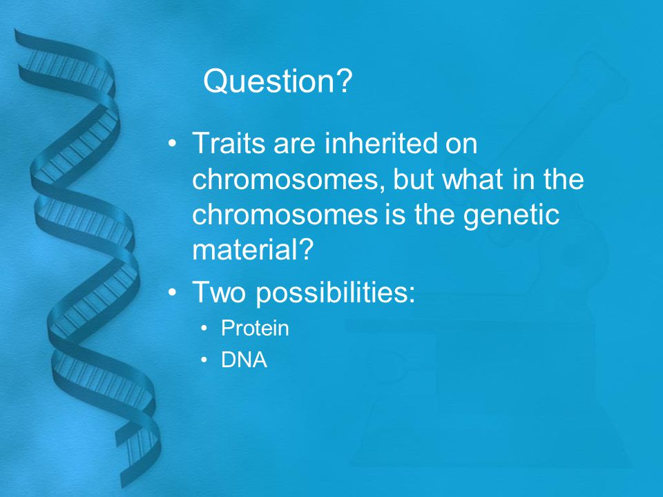 Implication Telomeres are involved with the aging process.