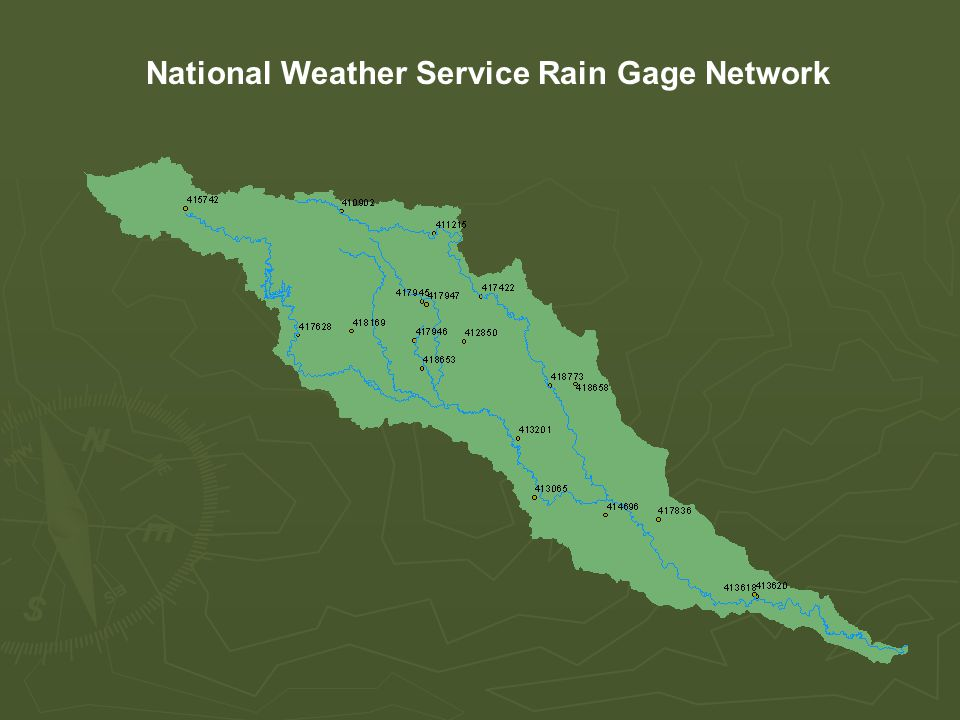 National Weather Service Rain Gage Network