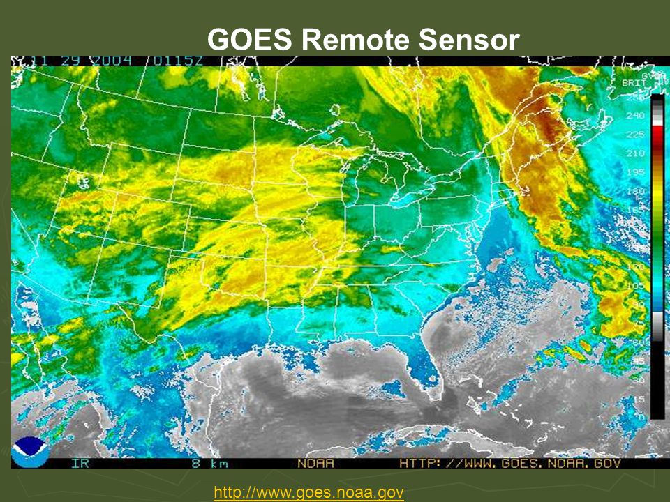 GOES Remote Sensor http://www.goes.noaa.gov