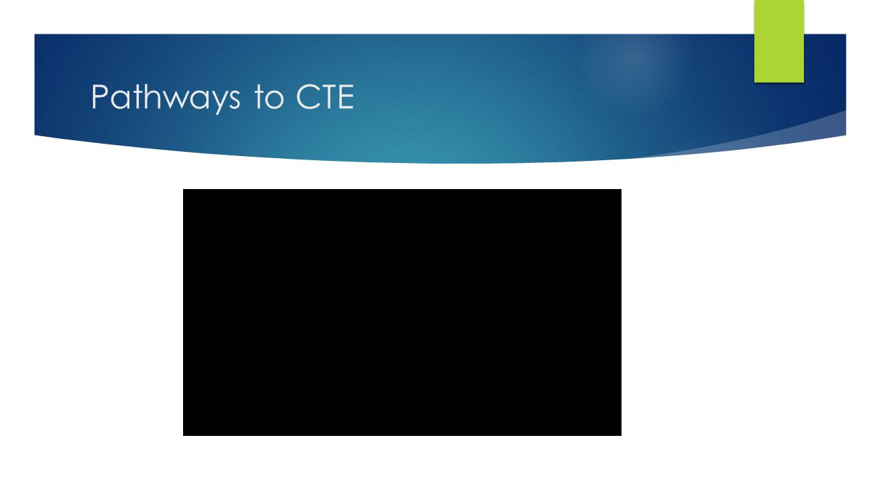 Pathways to CTE