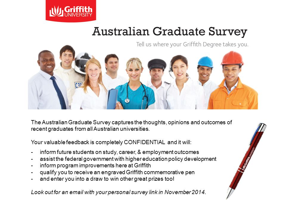 The Australian Graduate Survey captures the thoughts, opinions and outcomes of recent graduates from all Australian universities.