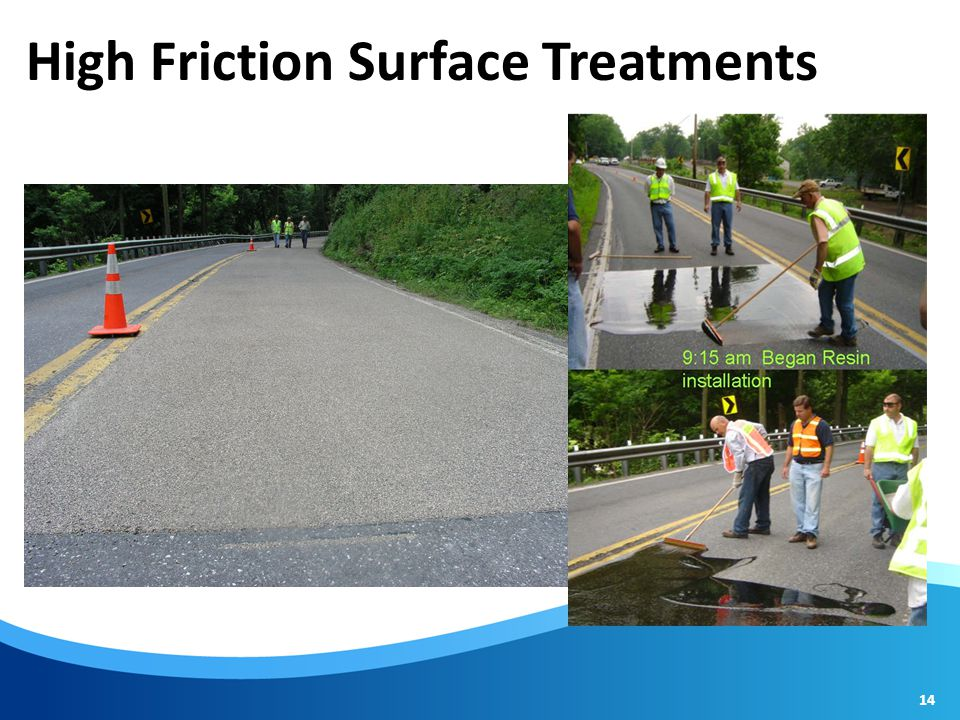 High Friction Surface Treatments 14
