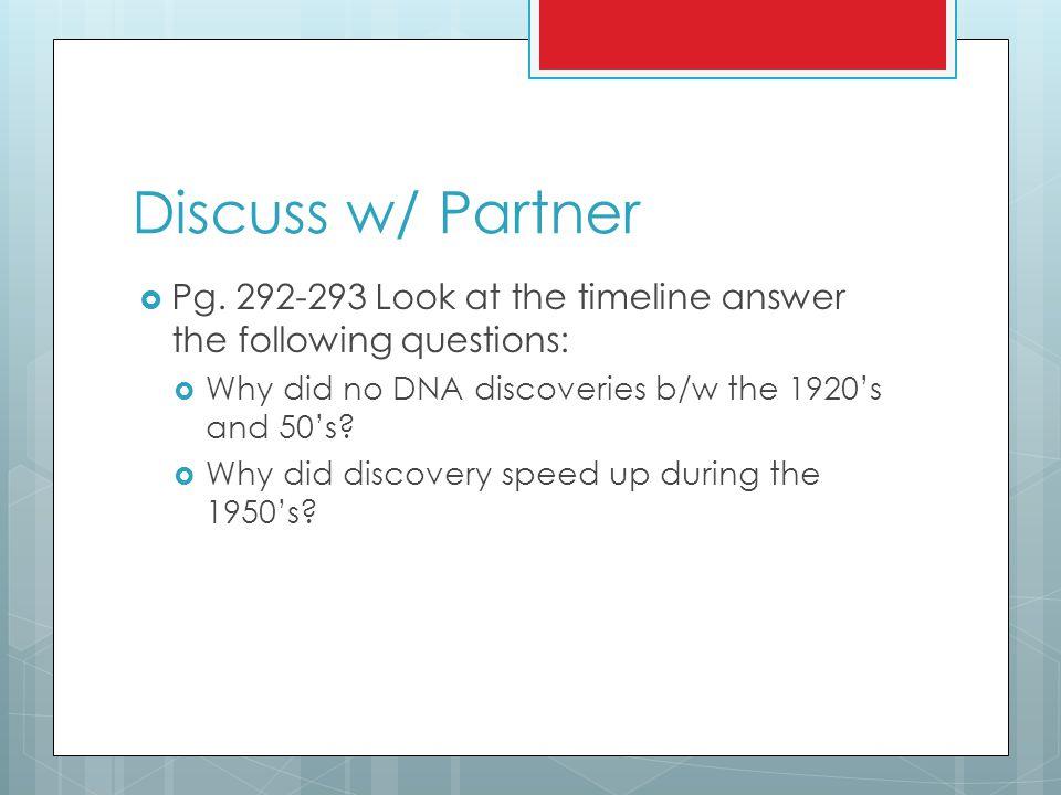 Discuss w/ Partner  Pg.