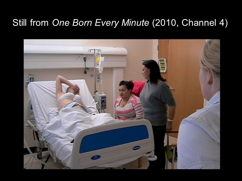 Still from One Born Every Minute (2010, Channel 4)