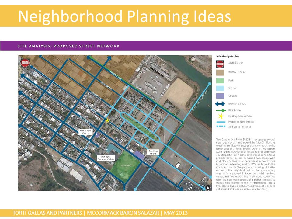 TORTI GALLAS AND PARTNERS | MCCORMACK BARON SALAZAR | MAY 2013 Neighborhood Planning Ideas