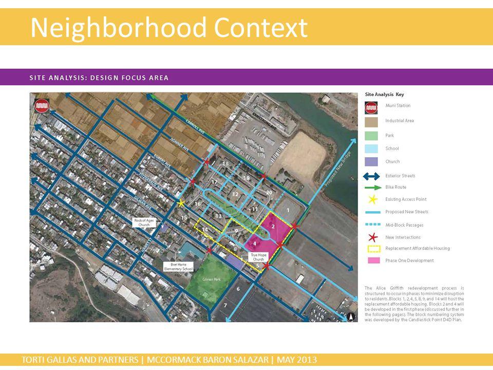 TORTI GALLAS AND PARTNERS | MCCORMACK BARON SALAZAR | MAY 2013 Neighborhood Context