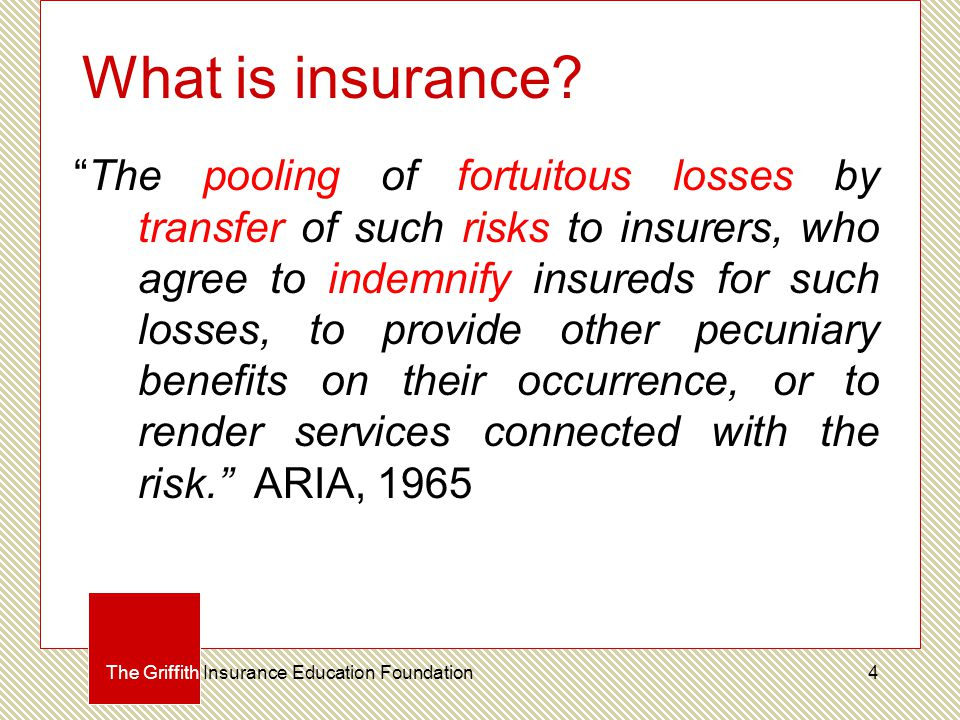What is insurance.