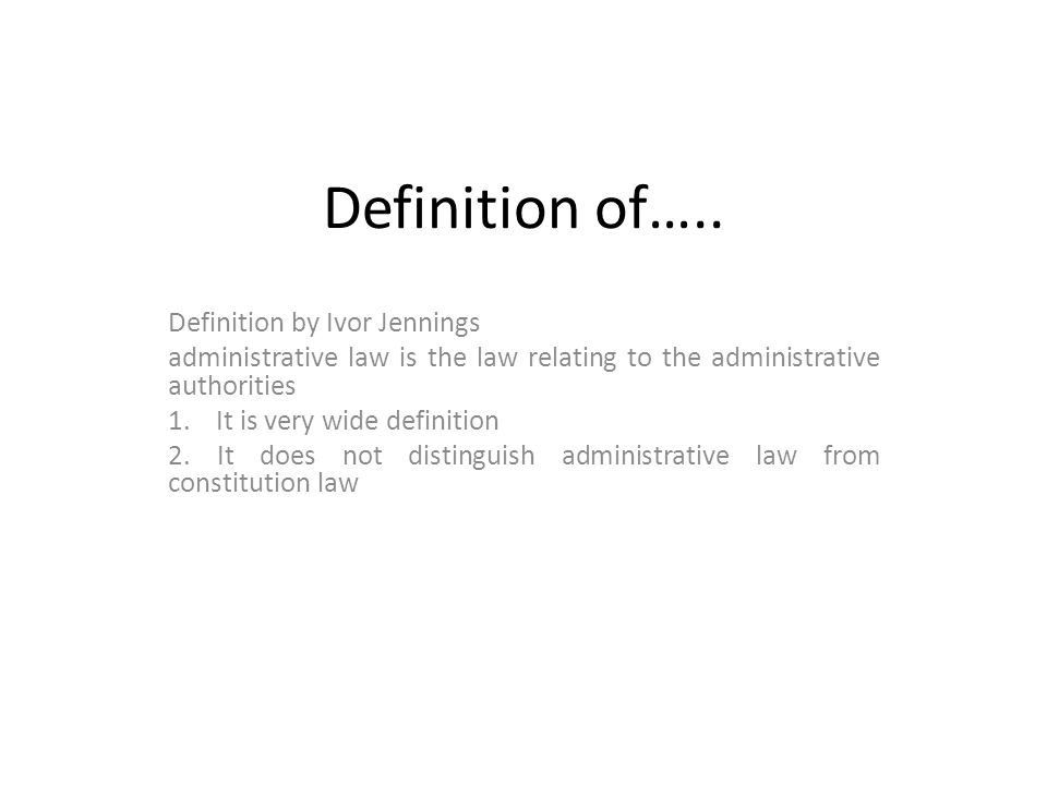 Definition of…..