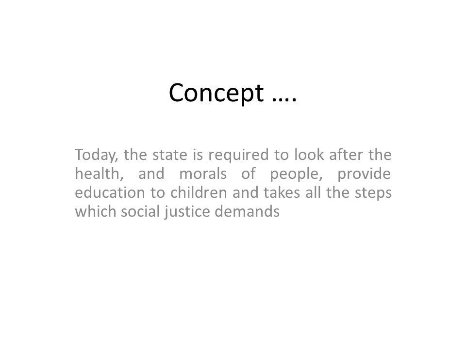 Concept ….