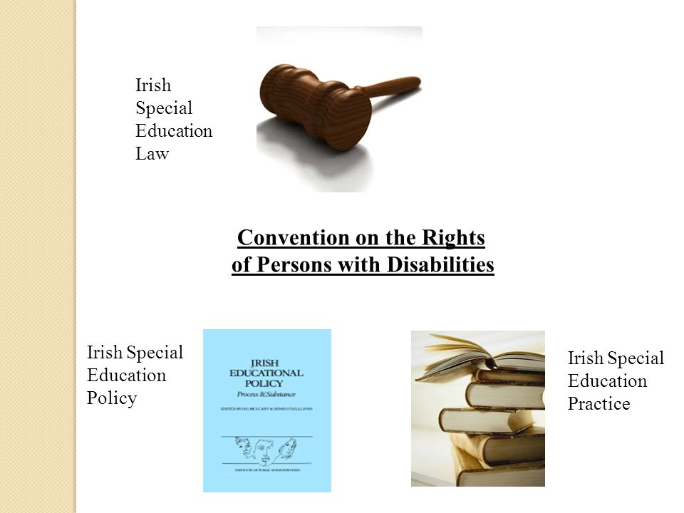 Convention on the Rights of Persons with Disabilities Irish Special Education Law Irish Special Education Policy Irish Special Education Practice