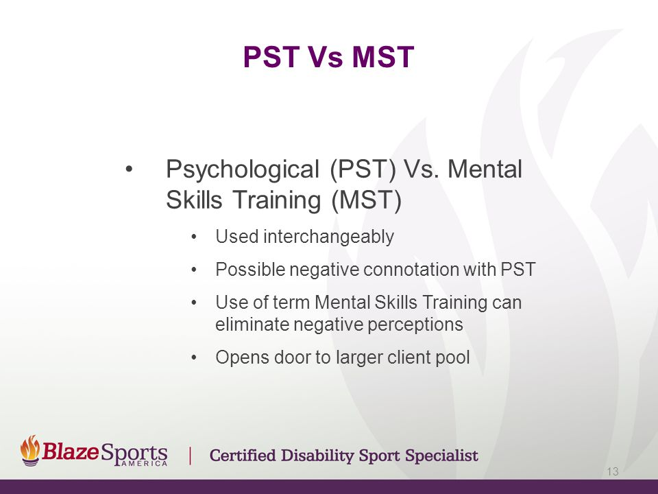 PST Vs MST Psychological (PST) Vs.