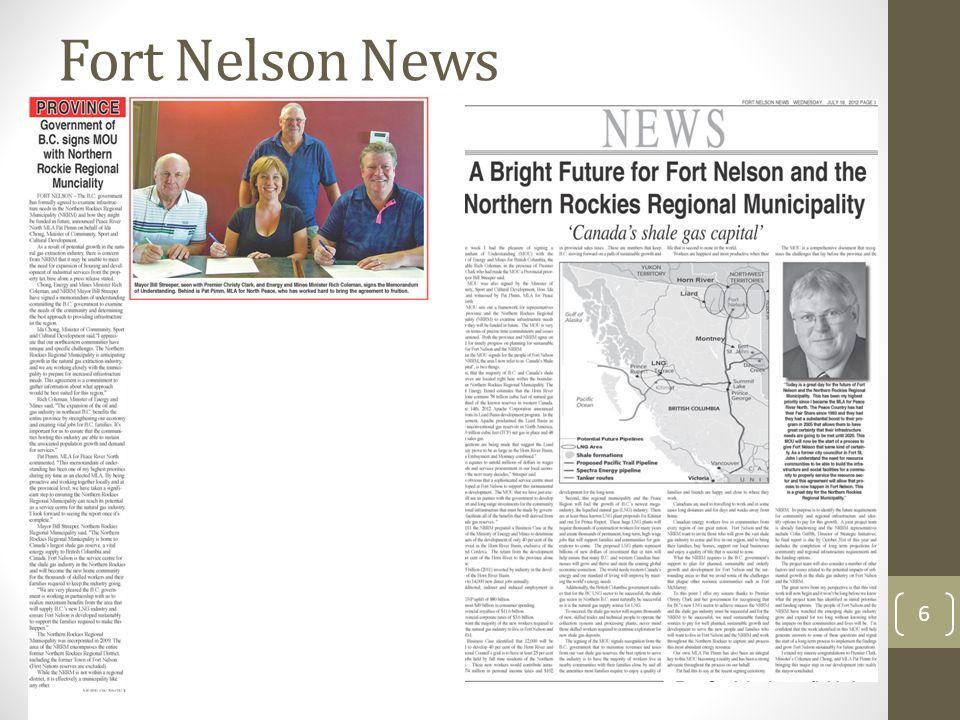 Provincial Press Release 7