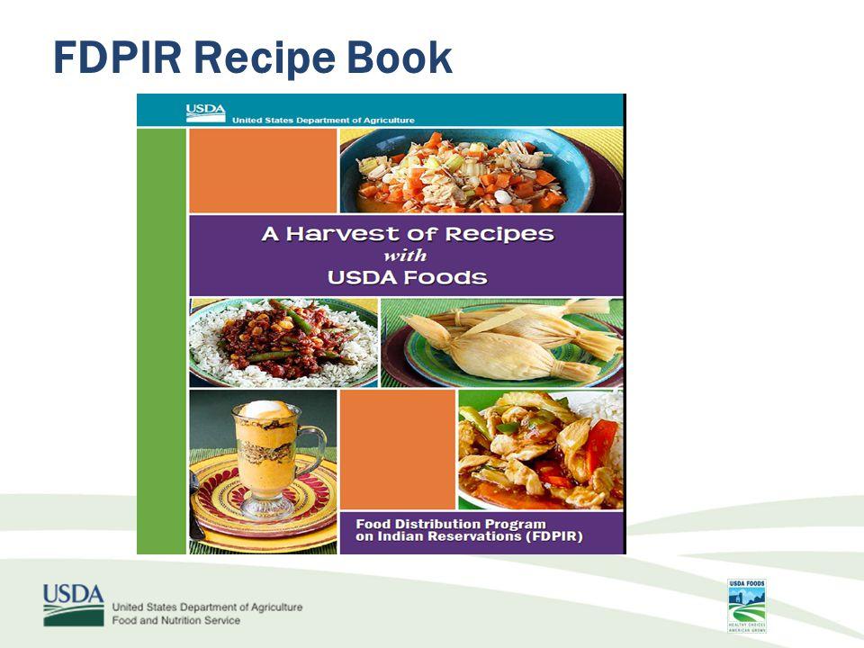 FDPIR Recipe Book
