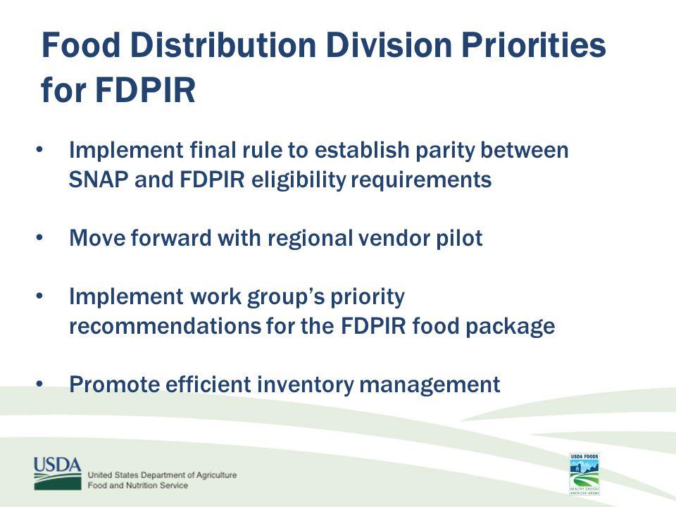 FDPIR Recipe Book - Features List of USDA Foods