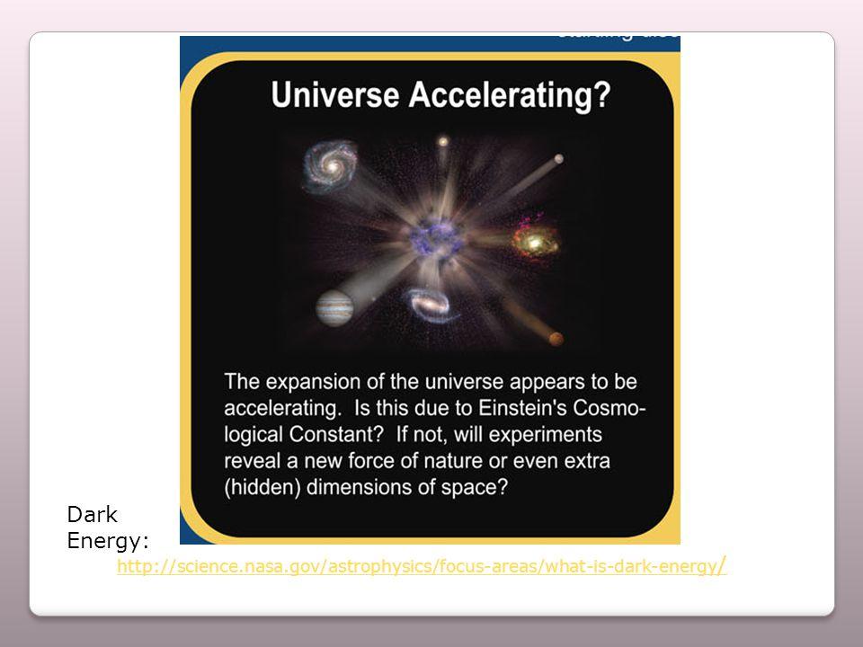 http://science.nasa.gov/astrophysics/focus-areas/what-is-dark-energy / Dark Energy: