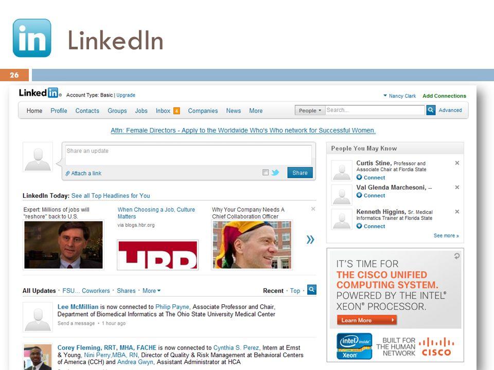LinkedIn 26