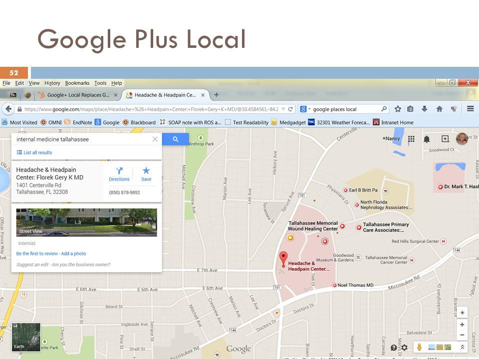Google Plus Local 52