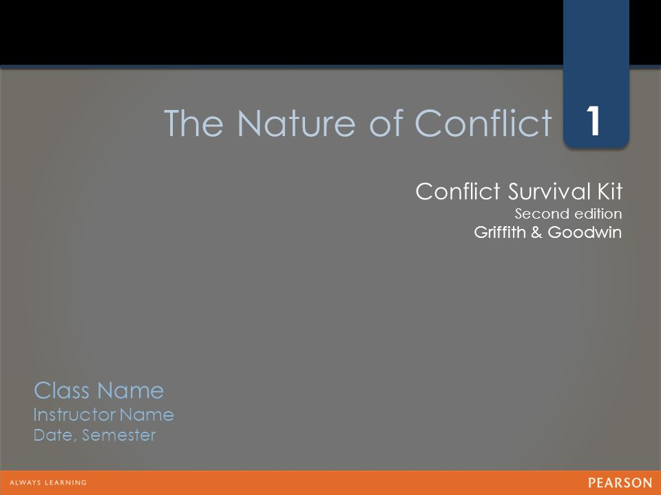 The Good News about Managing Conflict in Today's Organization o There is a clear need for informal, internal conflict resolution specialists who serve in such roles as part of their regular duties o The aspiring manager who demonstrates effective conflict management skills and competencies has a leg up for hiring and advancement opportunities o You are capable of mastering the concepts, tools and strategies to effectively manage conflict in your organization