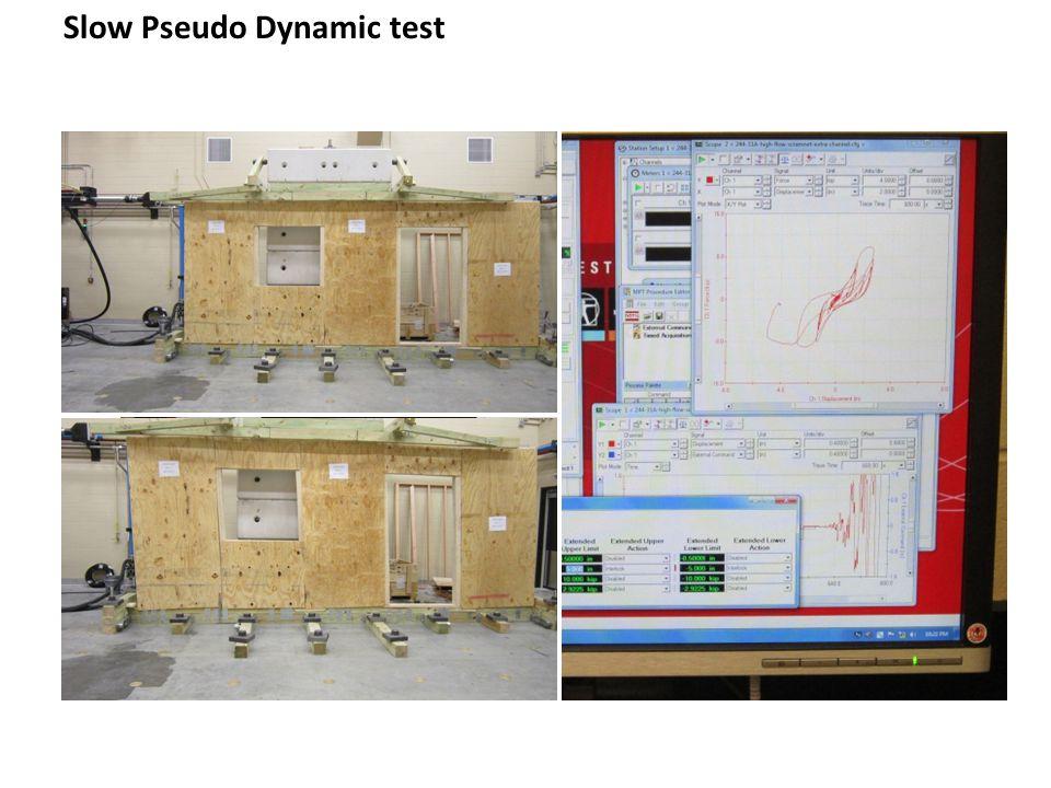 Slow Pseudo Dynamic test