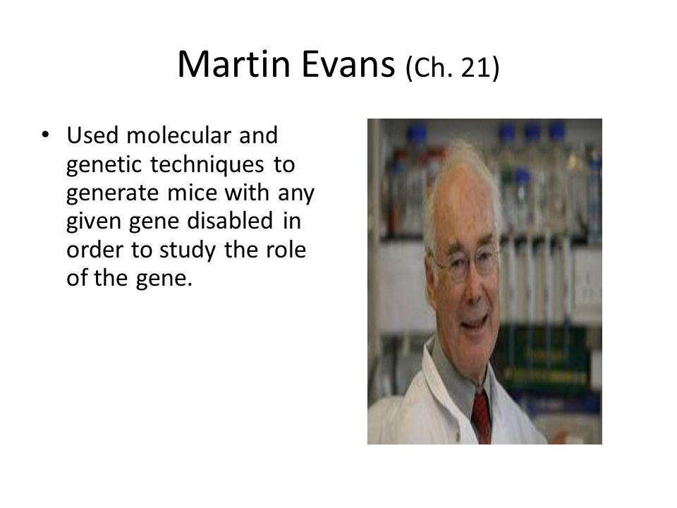 Martin Evans (Ch.