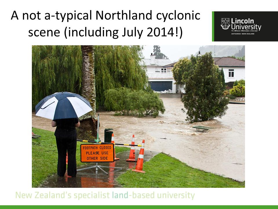A not a-typical Northland cyclonic scene (including July 2014!)