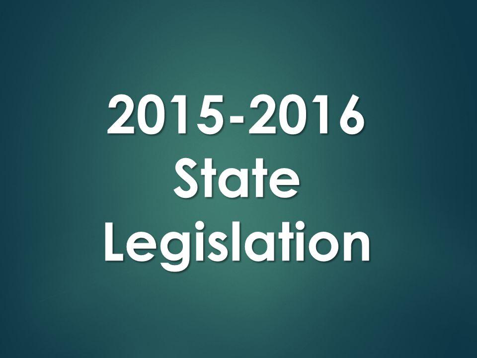 2015-2016StateLegislation