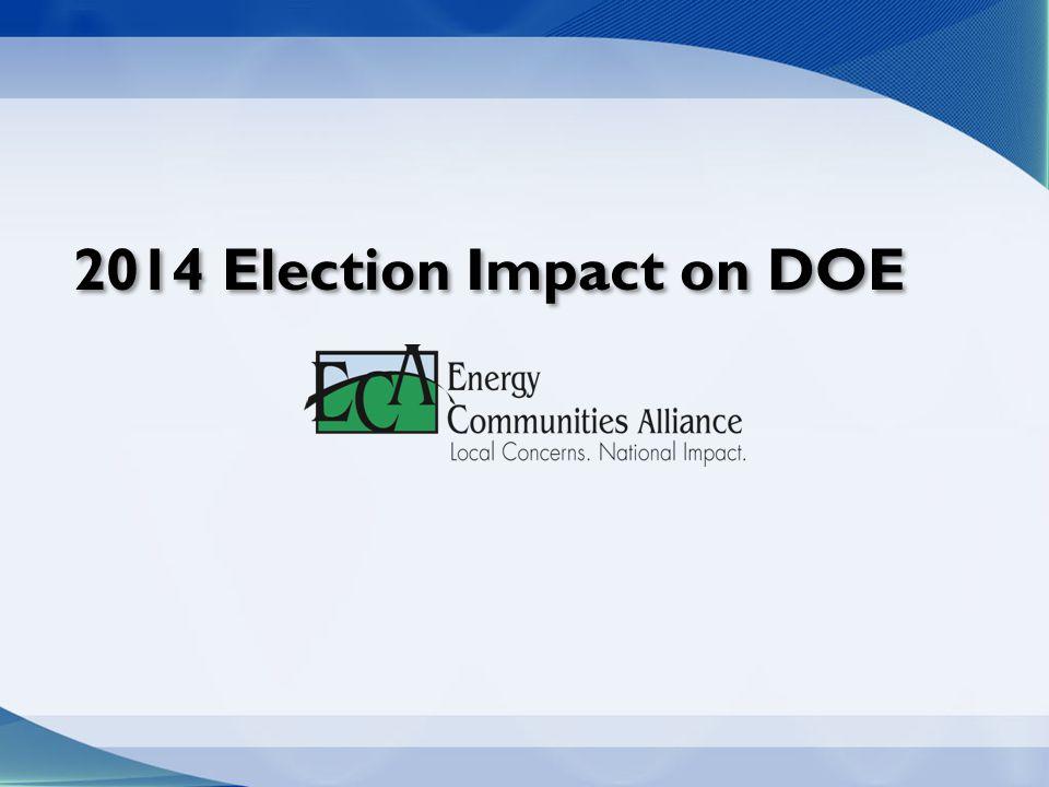2014 Election Impact on DOE