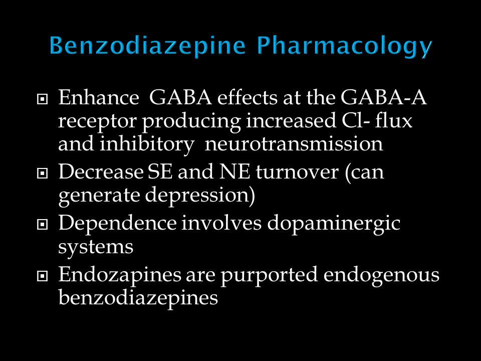  Hypnotic-sedative  Anxiolytic  Muscle relaxant  Anterograde amnesia  Antiseizure