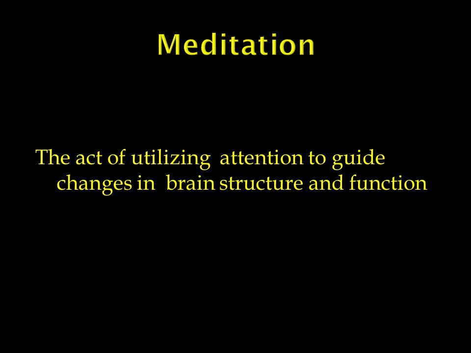 MEDITATION AN ADJUNCTIVE AGENT IN THE MANAGEMENT OF ANXIETY