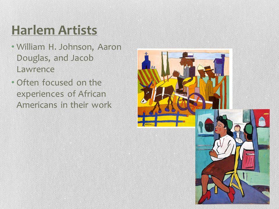 Harlem Artists William H.